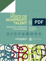 voice of nonprofit talent