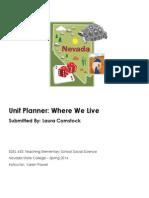 Edel453 Spring2014 Unit Plan Planner Lauracomstock (1)