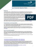 Position Anaerobic Digestion Plants