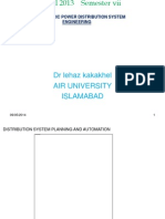 Pdu ! Distribution System Planning and Automation