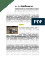 Evolución de los lepidosaurios