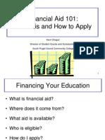financial aid pp