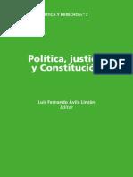 Politica Justicia y Constitucion