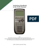 TI89t Handbook