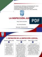 Inspección Judicial.