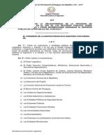 """Ley """"Que establece la obligatoriedad de la Provisión de Informaciones en el uso de los Recursos Públicos sobre remuneraciones y otras retribuciones asignadas al Servidor Público de la República del Paraguay"""""""