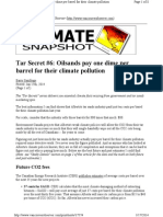 Tar Secret #6 - Oilsands Pay One Dime Per Barrel