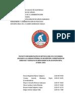 Proyecto Aplicación Metodología Ciclo Deming a Procesos IGSS
