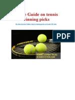 Tennis Guide