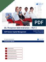 05 SAP HCM Personnel Administration Part 3