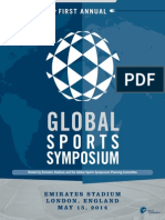 2014 Global Sports Symposium Program