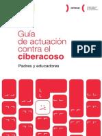 Guia de Actuacion Contra El Ciberacoso