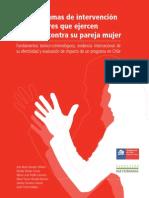 Chile Programa de Intervencion Para Hombre Violentos