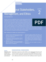 Stakeholders, Managers, And Ethics