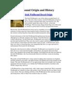 Irish Wolfhound Origin and History