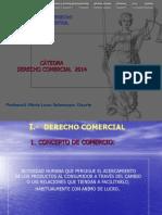 Derecho Comercial GENERALIDADES. Concepto y Fuentes