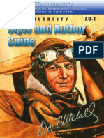 Air University Style and Author Guide 2014
