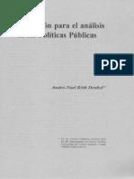 30-(05) Introduccion Para El Analisis de Las Politicas Publicas (Andre-Noel Roth Deubel)