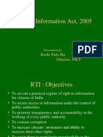Right to Information Overview PPT