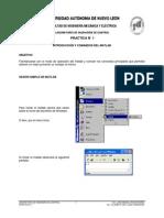 Practica 01 - Introduccion y Comandos Del MATLAB