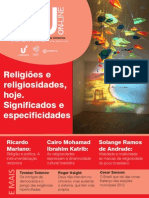 IHUOnlineEdicao Religiões No Brasil
