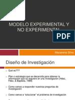 Modelo Experimental y No Experimental