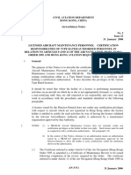 Civil Aviation Department Hong Kong, China Airworthiness Notice No. 3