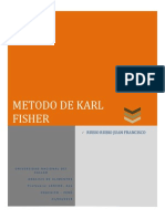 Metodo Karl Fisher