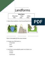 Landform Test