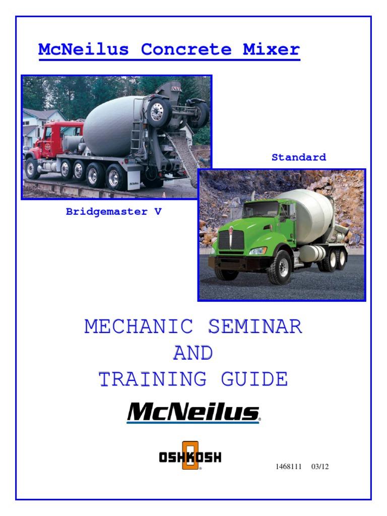 Entrenamiento Mc Neilus Valve Pump 2012 Mcneilus Wiring Schematic