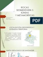 Informe de Rocas Geologia