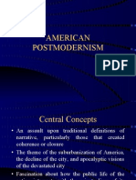 American Postmodernism