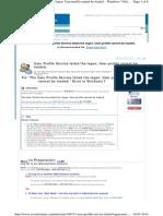 User Profile Service