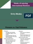 models of internalisation