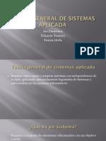 Teoría General de Sistemas Aplicada Presentación Cap 1 - 6