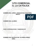 Curso de Introducción y Windows Xp Icic (Nuevo 2013)