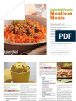 EatingWell Meatless Vegetarian Cookbook