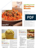EatingWell Meatless Vegetarian Cookbook