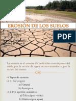 Erosion de Suelos