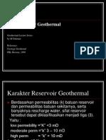 3 Tipe Reservoir Geothermal