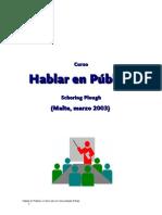 Manual Hablar en Publico (Malta2003)