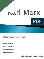 Karl Marx - Apresentação