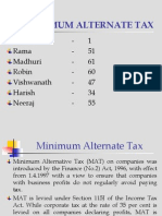 7188704 Minimum Alternate Tax