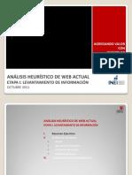 EtapaI_Análisis Heurístico Web Actual_INEI