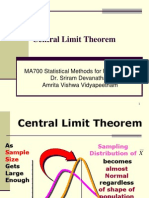 19Lecture - Central Limit Theorem