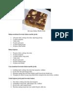 Brownies Marble Jeruk