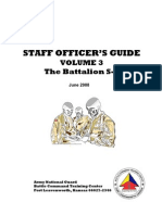 S-6 Staff Officers Guide