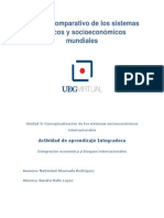Análisis Comparativo de Los Sistemas Políticos y Socioeconómicos Mundiales ARGENTINA