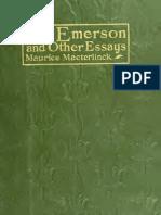 On Emerson Ensayos Muchos