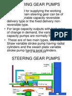 Steering Gear Pumps
